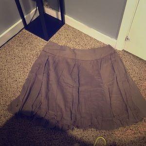Adorable faux ruffle skirt